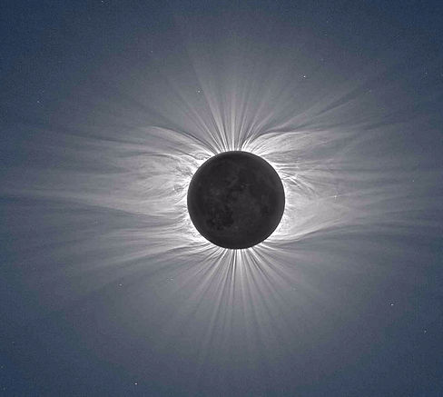 Total Solar Eclipse, Coronal Streamers