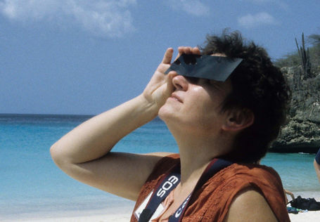 Viewing an eclipse through eclipse viewers