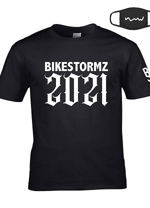 BIKE STORMZ  'Ride Out 2021' T-SHIRT