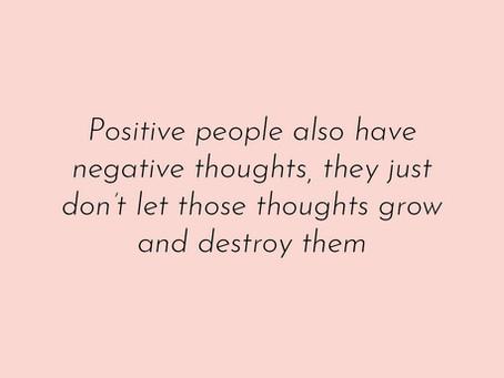 Ajatuksia - positiivinen ajattelu