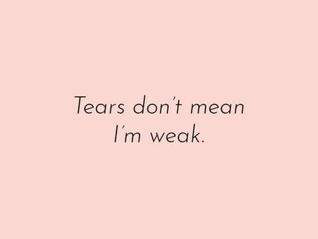 Ajatuksia - kyynelten voima