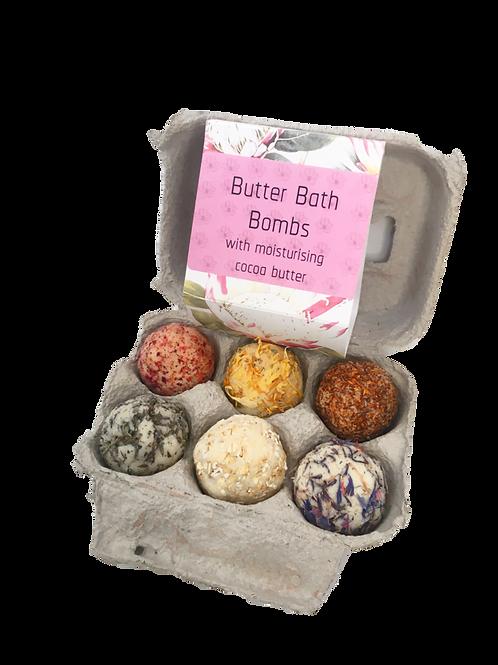 Butter Bath Bombs