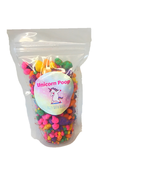 Unicorn Poop Fizzy Rocks