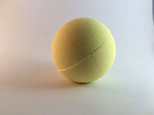 yellow bath bomb