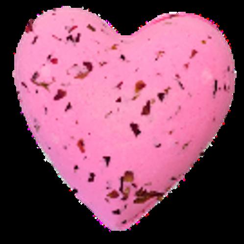 Strawberry Rose Petal Mega Heart