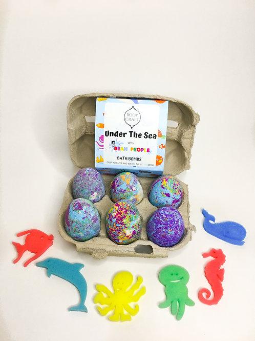 Sea Animals Egg Box