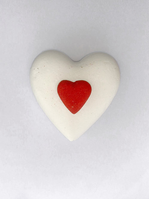 Mega Heart with colour changing mini heart