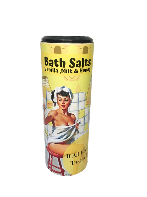 Vanilla, Milk & Honey Vintage Bath Salts