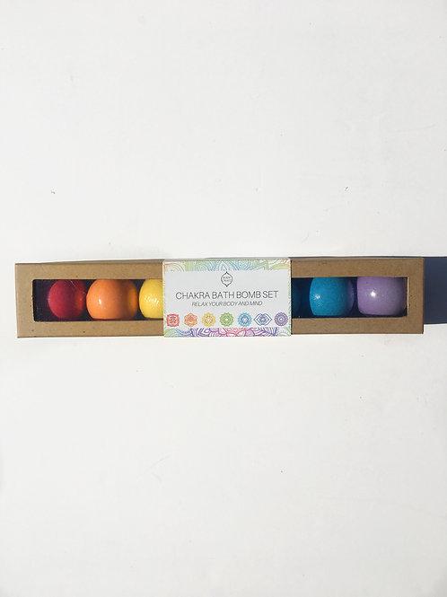 Chakra Bath Bomb Gift Set