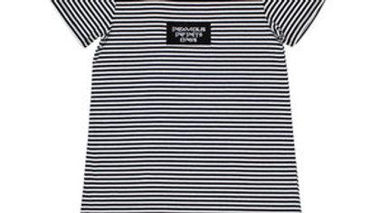 Women's black infamous infinite tshirt dress
