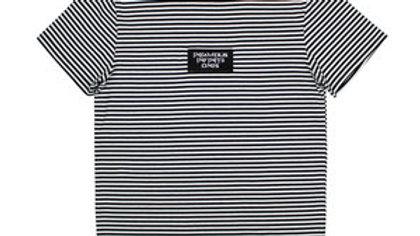 Black infamous infinite shirt