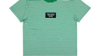 Green infamous infinite shirt