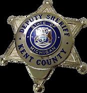Kent County Sheriff Department Badge