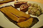 comida venezolana en santiago, hallacas en chile