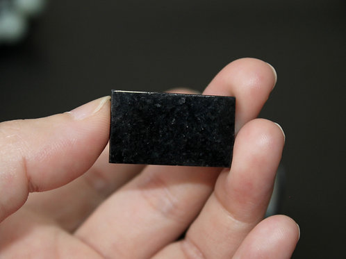 8.6 grams Black Jadeite Jade (Grade A) Rough Chunk with Gem Lab Certificate