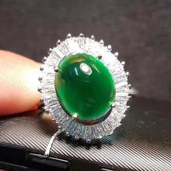 Rare Imperial Translucent Black Jadeite Jade10
