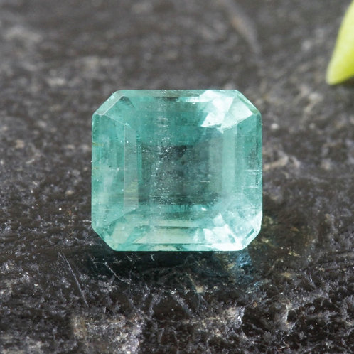 0.5 ct. Natural Unheated/ Untreated Greenish-Blue Emerald, from the Famous Mines