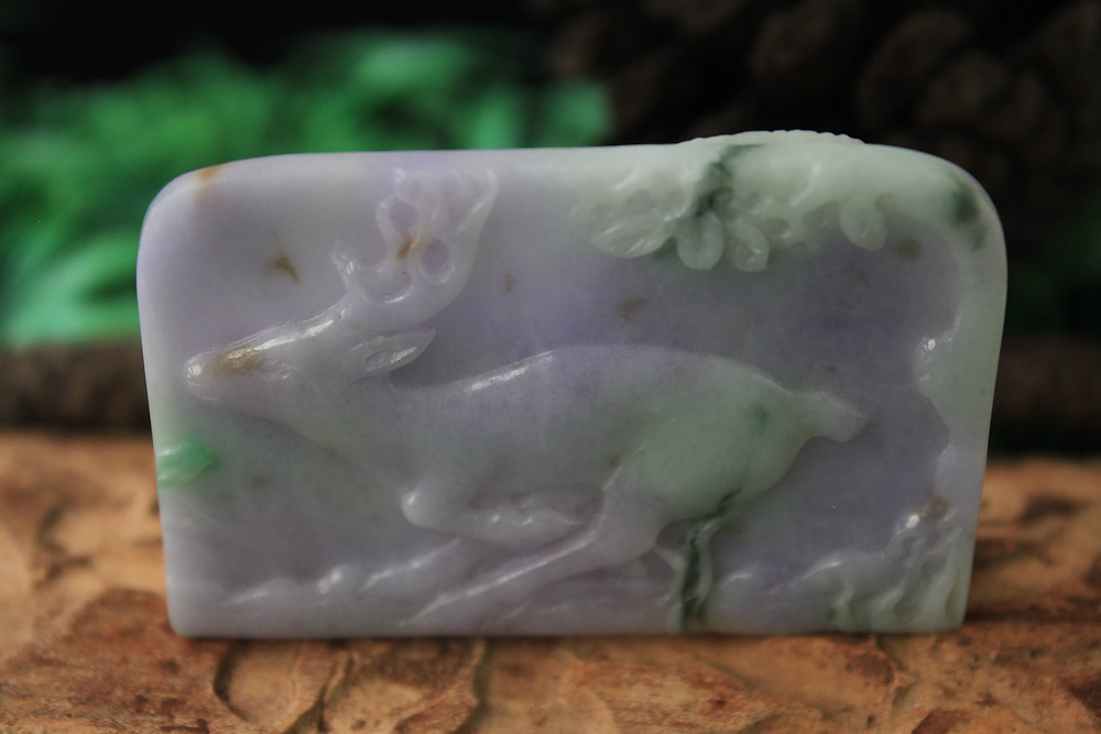 Lavender Jadeite Jade has become one of the most expensive colors in the Jade market today