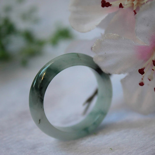 Heaven's Gift, High Quality Dark Green on a Glassy Body, Jadeite Jade (Grade A)
