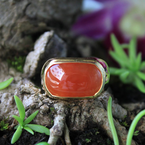 High Quality, Rare 4 ct. Translucent-Red Jadeite Jade (Grade A) Gemstone