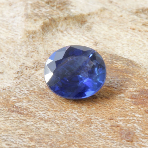 0.45 ct. Gorgeous Blue Sapphire (Heated) Round Shape, faceted Gemstone