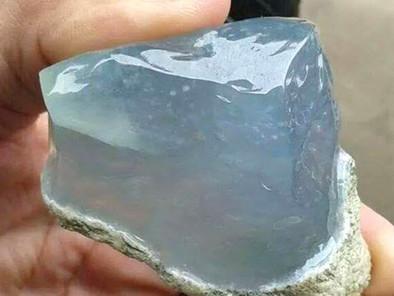 Icy-Crystal Jadeite Jade