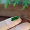 Thumbnail: The Imperial Dragon Scale, 1.85 ct. Rare, Translucent Imperial Green with Black