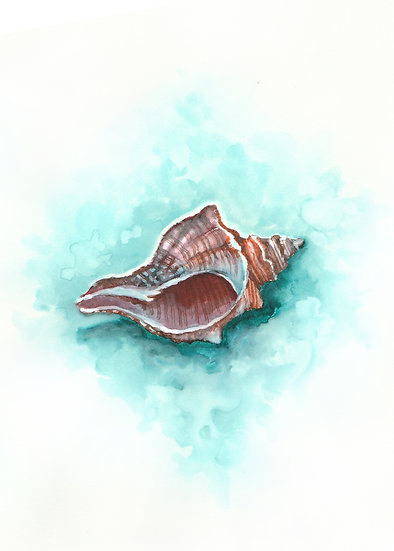 Ocean - Watercolor Print Set