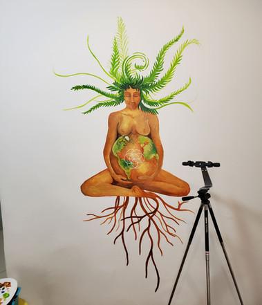 Pachamama Mural - 2019