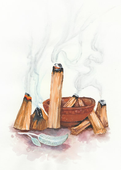 Purification - Watercolor Print Set