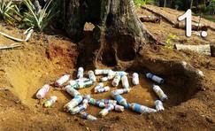 Plastic Bottle Bricks