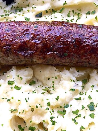 Saucisse bretonne au sel de Guérande, mu