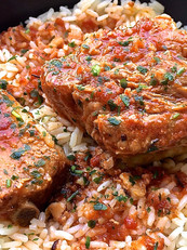 Travers de porc confits marinade maison