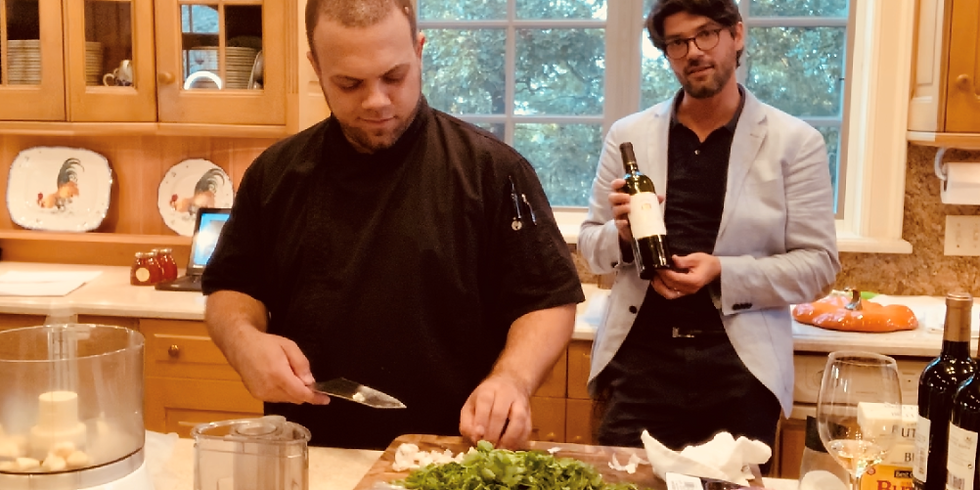 IN THE KITCHEN - Virtual cooking and wine experience