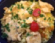 Emincés de filet de poulet aux épices pa