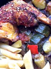 Cuisse de poulet fermier label rouge rat