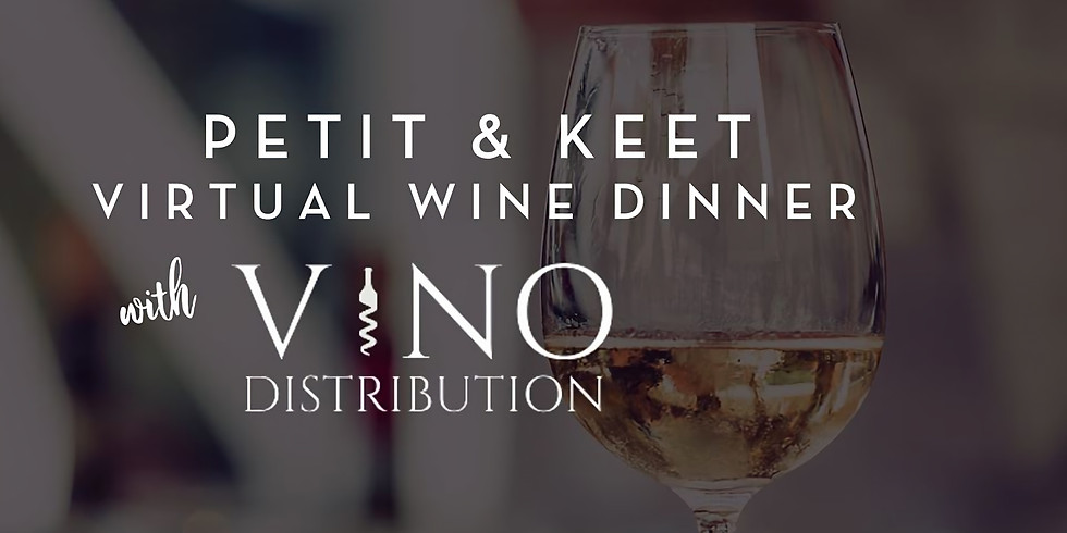 Petit Wine Dinner for Two Takeout w/ Petit & Keet