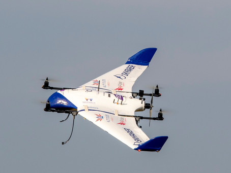 Telecoms giant joins Skyfarer's consortium working to make medical drone delivery possible