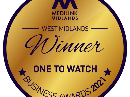 WINNER - Medilink Midlands Business Awards