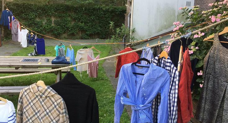 Clothes Swap at the AMFI garden, June 2019