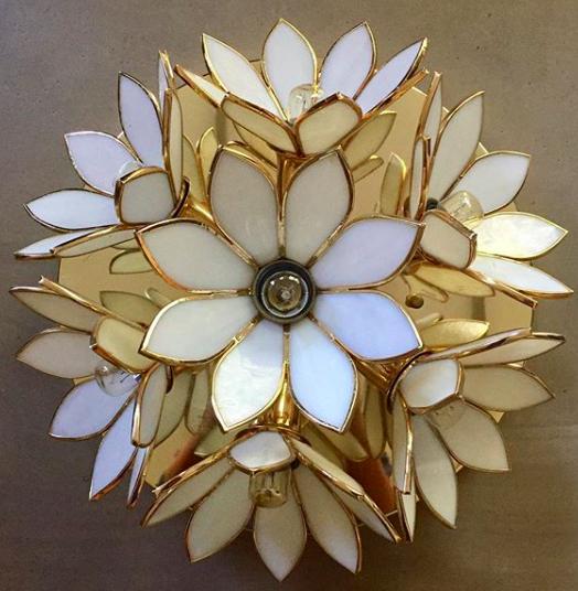 Lampe sept Fleurs / DISPONIBLE