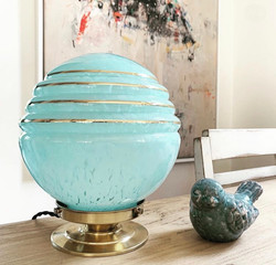 Lampe Turquoise #DISPONIBLE