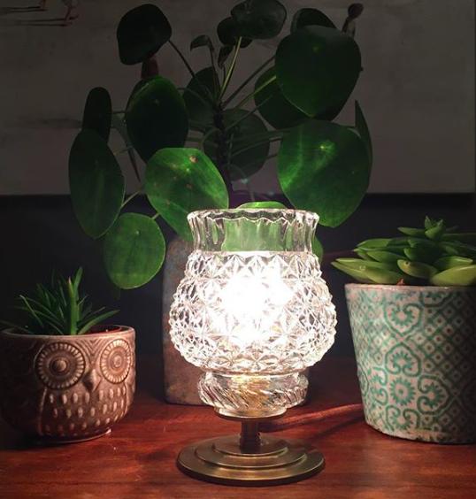 Lampe Cristal /VENDUE