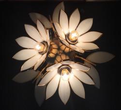 Lampe trois fleurs /VENDUE
