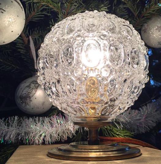 Petite lampe Noël /VENDUE