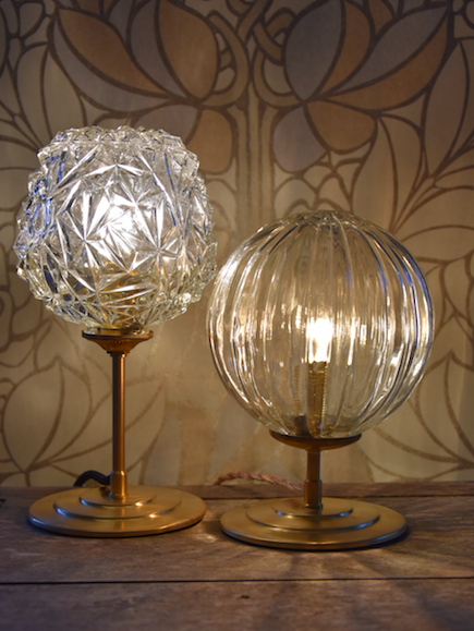 Lampe Diamant et Cristal #VENDUES