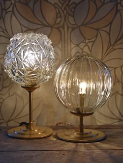 Lampe Diamant et Cristal #VENDUES