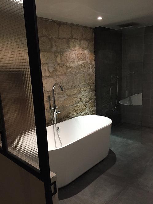 Verrière pour salle de bain