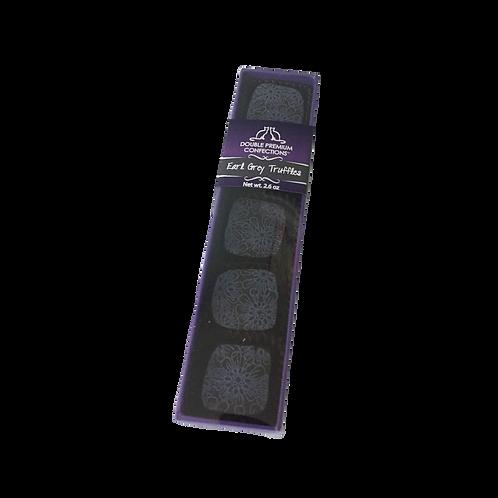 Earl Grey Dark Chocolate Truffles, 5 piece sleeve