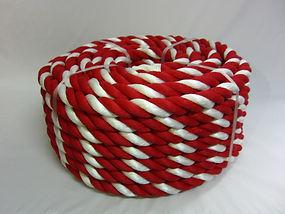 紅白ロープ PPスパン